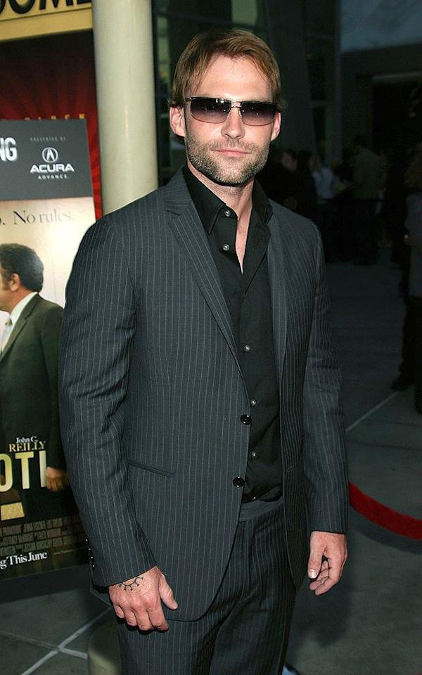 "Sean William Scott is typically quite hot, but his mutton chops are far from attractive. Jesse Grant/<a href=""http://www.wireimage.com"" target=""new"">WireImage.com</a> - May 28, 2008"