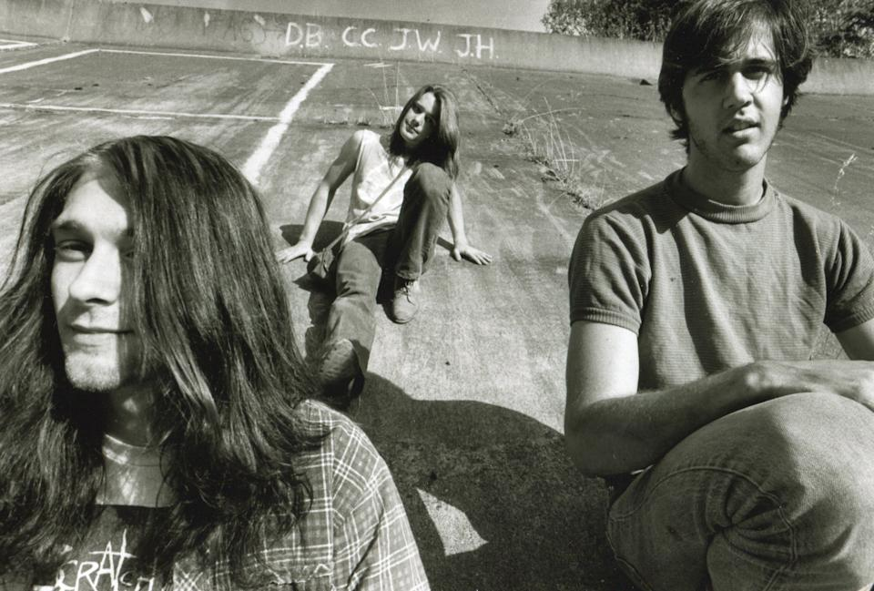 Nirvana's Kurt Cobain, Chad Channing, and Krist Novoselic. (Photo: Mark and Colleen Hayward/Getty Images)