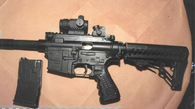 A photo of a firearm issued by West Yorkshire Police in connection with McFarlane's sentencing. (West Yorkshire Police)
