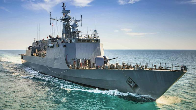 Naval war ship