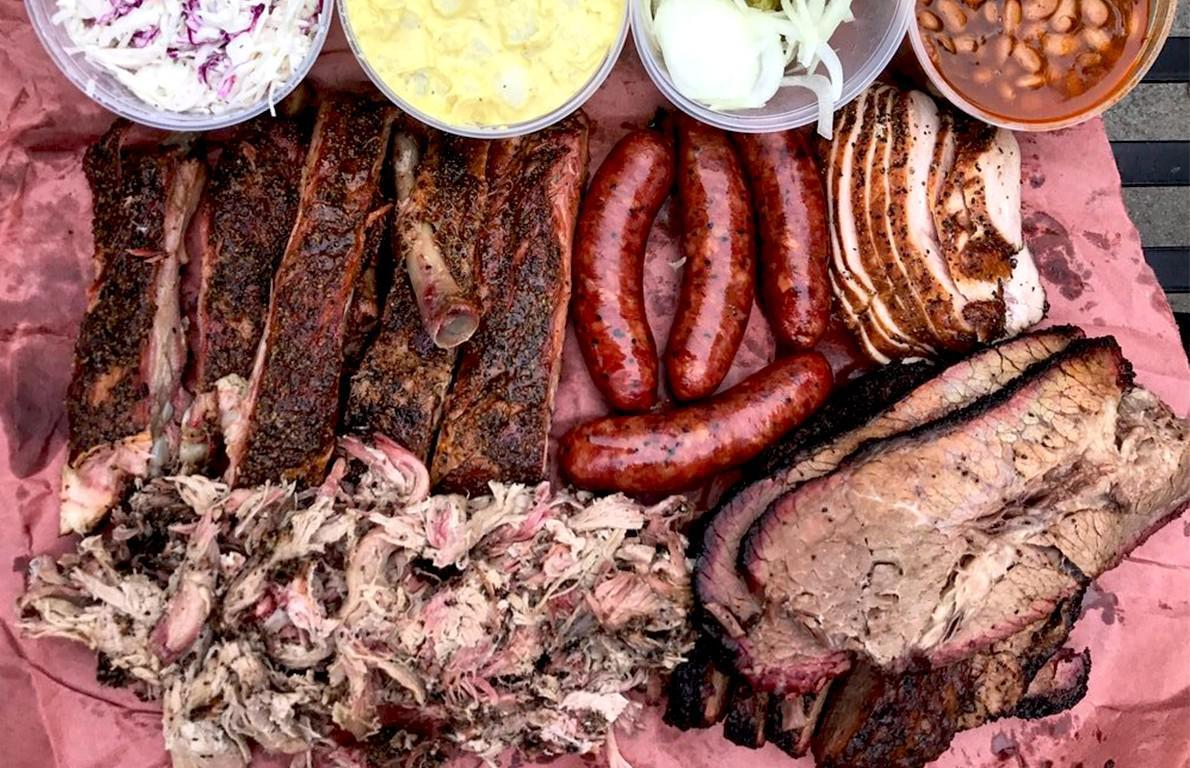 """<p>Pitmaster Aaron Franklin and his wife Stacey started selling barbecue from an Airstream trailer in 2009, and today they're running one of the most highly praised restaurants in America, serving barbecue that's widely regarded as the very best you'll find anywhere at <a href=""""https://www.thedailymeal.com/franklin-barbecue?referrer=yahoo&category=beauty_food&include_utm=1&utm_medium=referral&utm_source=yahoo&utm_campaign=feed"""">Franklin Barbecue</a> in Austin, <a href=""""https://www.thedailymeal.com/best-food-drink-texas-gallery?referrer=yahoo&category=beauty_food&include_utm=1&utm_medium=referral&utm_source=yahoo&utm_campaign=feed"""">Texas</a>. How did they get there? For one, attention to detail. The quality of the meat, the care and attention put into the seasoning, the wood, the smoking process and the carving… Franklin literally has it down to a science, and the crowds show up in droves every day to sample the fruits of his labor. Salt and pepper, meat, smoke and time are all that go into his brisket, ribs, pulled pork and turkey, and the end result is, well, perfect. You have to get there early and wait in line, but don't worry, <a href=""""https://www.thedailymeal.com/eat/restaurants-are-actually-worth-waiting-line?referrer=yahoo&category=beauty_food&include_utm=1&utm_medium=referral&utm_source=yahoo&utm_campaign=feed"""">this place is definitely worth waiting in line for</a>.</p>"""