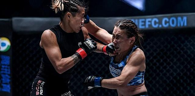 Angela Lee cracks Mei Yamaguchi at ONE Unstoppable Dreams
