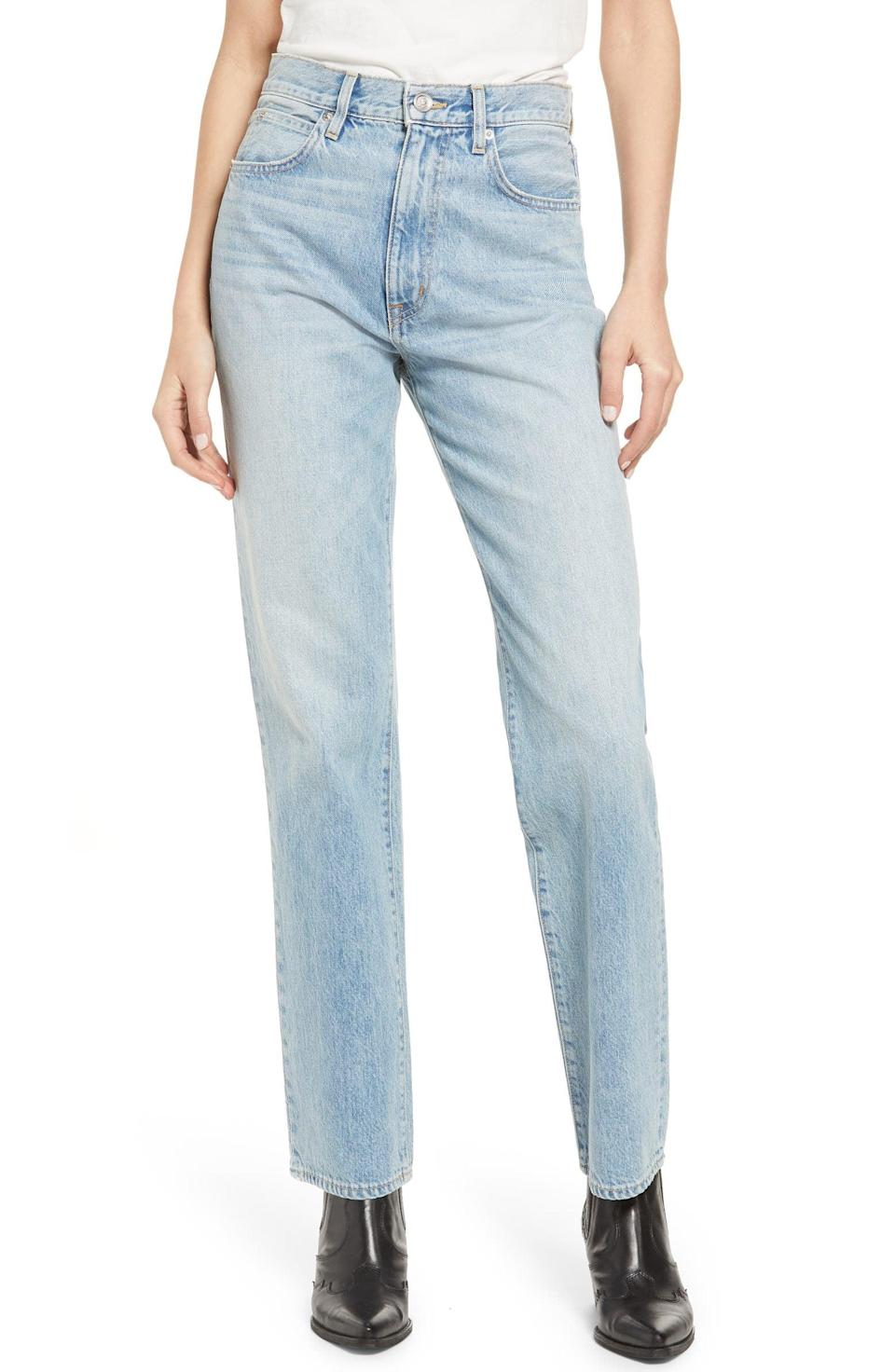 <p>These <span>Slvrlake London High Waist Straight Leg Jeans</span> ($179, originally $299) have a cult following, so snag them while you can!</p>