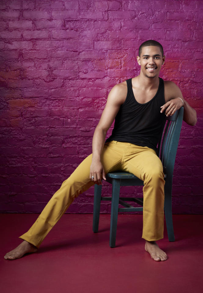 """George Lawrence II (19), is a Contemporary dancer from Decatur, GA, on """"So You Think You Can Dance."""""""