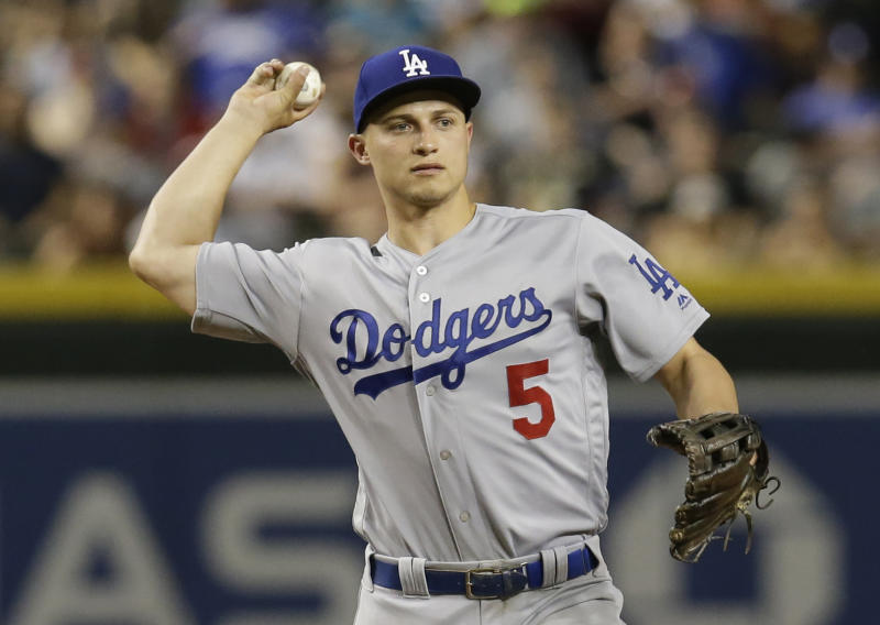 Dodgers' Cory Seager is running at nearly 100 percent