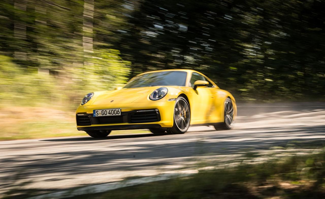 "<p>Our <a href=""https://www.caranddriver.com/porsche/911"" target=""_blank"">2020 Porsche 911 Carrera</a> S (992 generation) test car hit 60 mph in 3.0 seconds flat and tripped the quarter-mile lights in 11.3 seconds at 125 mph.</p>"