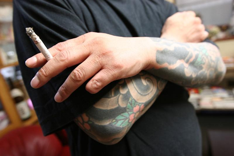 """The """"yakuza"""" cut off the tips of their fingers as part as an ancient Japanese honour code (AFP Photo/Frank Zeller)"""