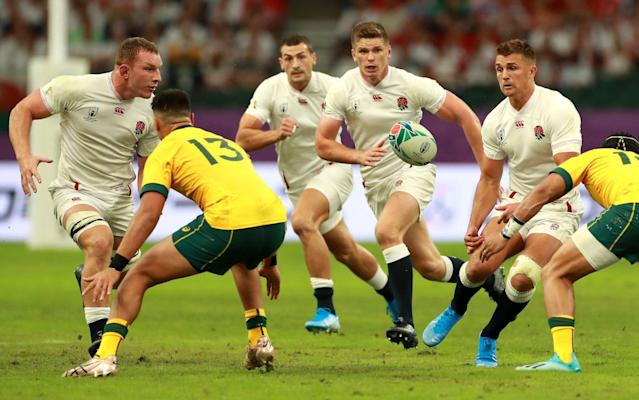 England beat Australia in the semi-finals to set up a semi-final showdown with New Zealand - Getty Images AsiaPac
