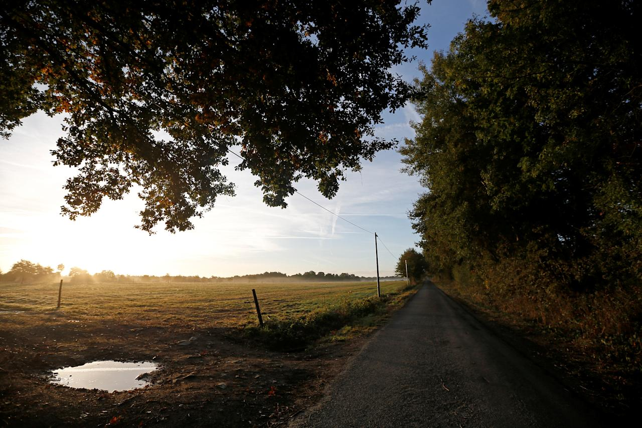General view of the countryside in the zoned ZAD (Deferred Development Zone) in Notre-Dame-des-Landes, that is slated for the Grand Ouest Airport (AGO), western France, October 18, 2016. Picture taken October 18, 2016.  REUTERS/Stephane Mahe