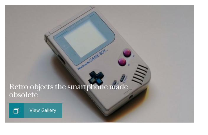 Retro objects the smartphone made obsolete