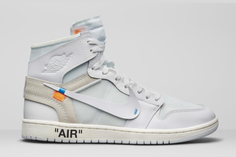 9ee0350bd8 Virgil Abloh's New Off-White x Air Jordan 1 Sneakers to Release This Month  Exclusively in Europe