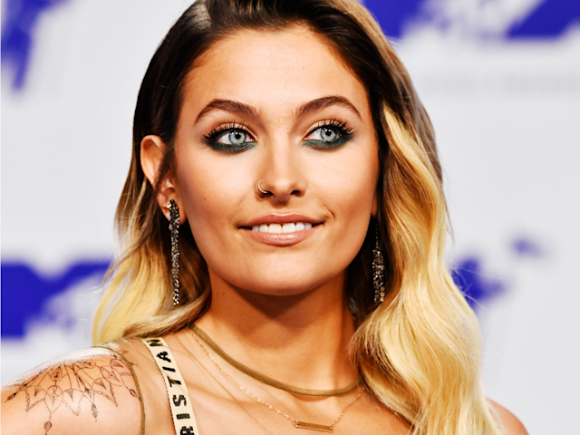 Paris Jackson isn't afraid of showing off her body hair. (Photo: Getty)