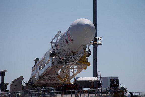 Private Rocket Moves to Virginia Launch Pad for Test Flight