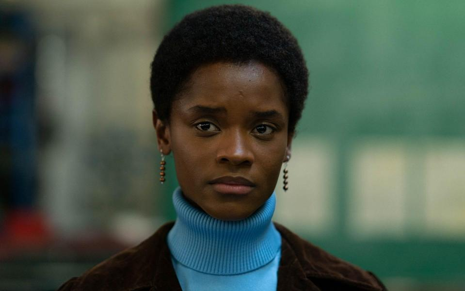 Wright stars as protest leader Altheia Jones-LeCointe in Steve McQueen's Mangrove - Des Willie/McQueen Limited