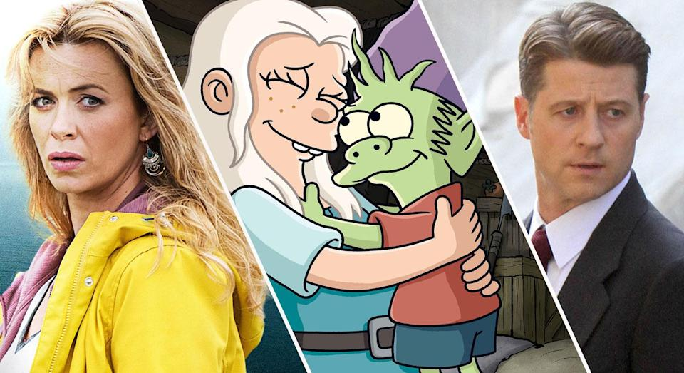 The Missing, Disenchantment and Gotham are all available to stream this weekend.