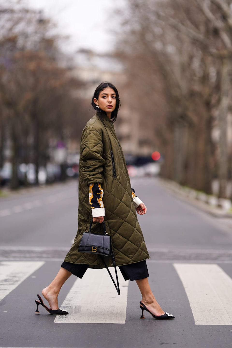 <p>Like the more understated cousin of the puffer, these quilted styles lend warmth but without major padding. Instead, quilting is a bit more discreet and easy to layer up under a wool coat or over a denim jacket. </p>