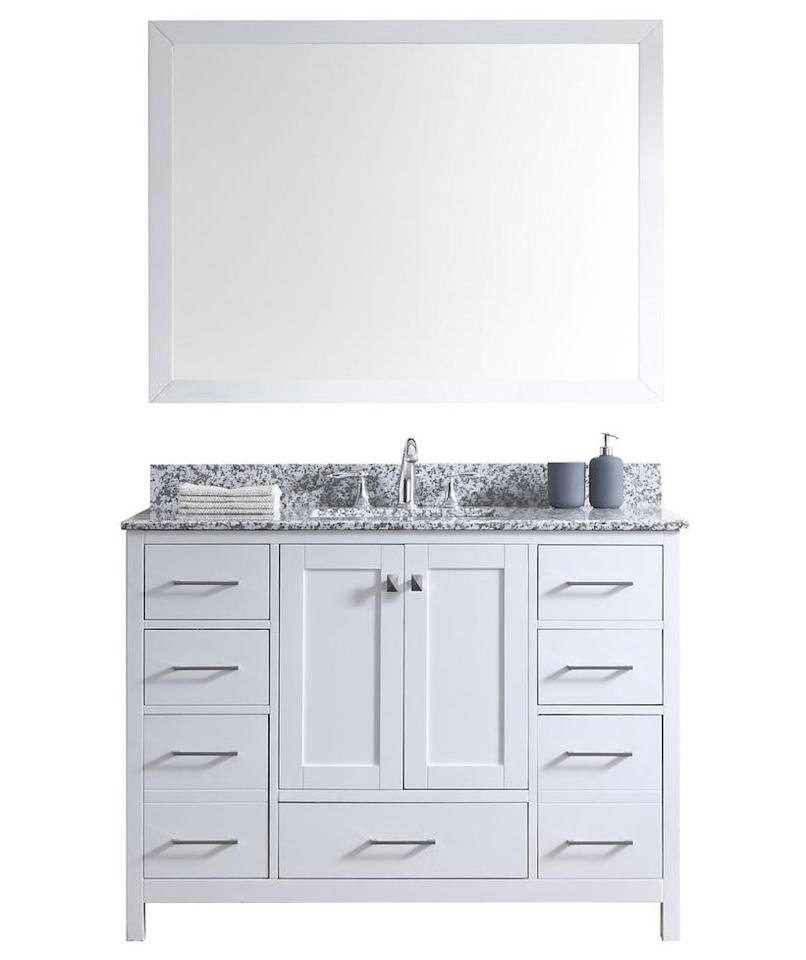 5 bathroom items to buy from home depot s white sale - Home depot bathroom vanities on sale ...