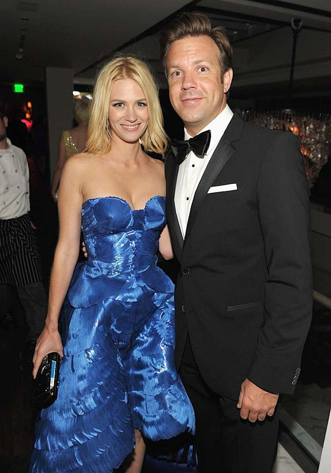 """Mad Men's"" January Jones and ""Saturday Night Live"" funny guy Jason Sudeikis made a cute couple for a little while, but it doesn't seem like they were ever serious. The duo called it quits in January after an on-again/off-again relationship that was first revealed in July 2010."