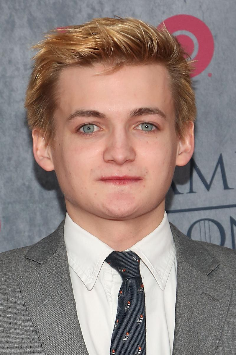 "Jack Gleeson attends the ""Game Of Thrones"" Season 4 premiere at Avery Fisher Hall, Lincoln Center on March 18, 2014 in New York City. (Photo by Taylor Hill/FilmMagic)"