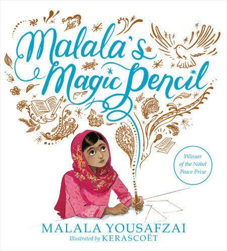 "<a href=""https://www.malala.org/malalas-story"" target=""_blank"">Malala Yousafzai</a>, Pakistani activist for girls education and recipient of the Nobel Peace Prize, tells her own story in&nbsp;<i>Malala's Magic Pencil. </i>(Illustrated by Kerasco&euml;t, a joint pen name for&nbsp;S&eacute;bastien Cosset and Marie Pommepuy)"