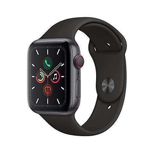 """<p><strong>Apple</strong></p><p>amazon.com</p><p><strong>$514.99</strong></p><p><a href=""""https://www.amazon.com/dp/B07XR6GNCK?tag=syn-yahoo-20&ascsubtag=%5Bartid%7C2139.g.33482000%5Bsrc%7Cyahoo-us"""" rel=""""nofollow noopener"""" target=""""_blank"""" data-ylk=""""slk:BUY IT HERE"""" class=""""link rapid-noclick-resp"""">BUY IT HERE</a></p><p>If you're an Apple-loyalist, the Apple Watch Series 5 is worth it. With its bright always-on Retina display, the Series 5 is lightweight, durable, and available in a variety of finishes, including an all-new titanium case. You can send and receive messages right on your Series 5 and stay on the grind with reliable 18-hour battery life. Series 5 helps you discover your path with new location features including a built-in compass and elevation monitor. The new international emergency calling feature allows you to call emergency services directly from your Series 5, even without your iPhone nearby. <br></p>"""
