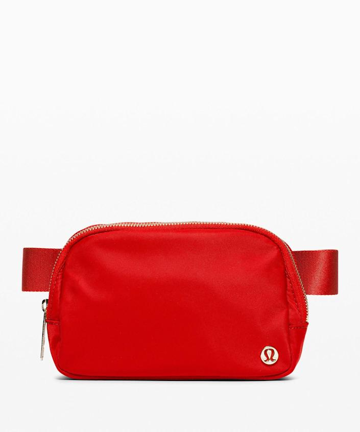 """<p><strong>Lululemon</strong></p><p>lululemon.com</p><p><strong>$38.00</strong></p><p><a href=""""https://go.redirectingat.com?id=74968X1596630&url=https%3A%2F%2Fshop.lululemon.com%2Fp%2Fbags%2FEverywhere-Belt-Bag-LNY%2F_%2Fprod10420054&sref=https%3A%2F%2Fwww.cosmopolitan.com%2Fstyle-beauty%2Ffashion%2Fg35293423%2Flululemon-dropped-a-whole-new-collection-for-lunar-new-year-2020%2F"""" rel=""""nofollow noopener"""" target=""""_blank"""" data-ylk=""""slk:Shop Now"""" class=""""link rapid-noclick-resp"""">Shop Now</a></p><p>For workouts and drugstore runs, this pack is perfect. </p>"""