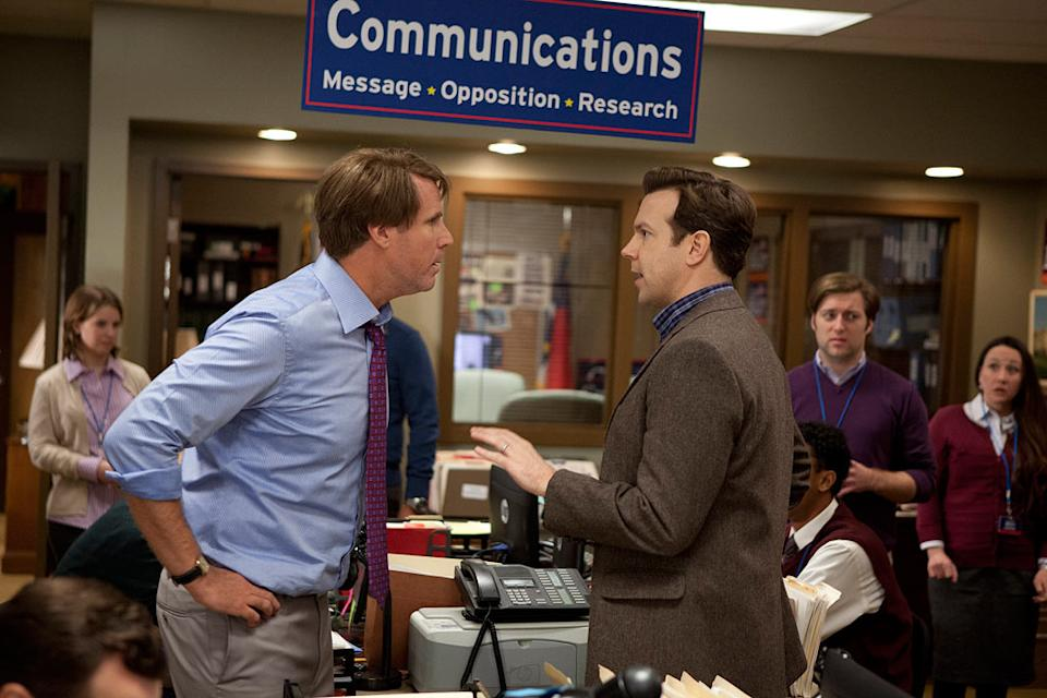 """Will Ferrell and Jason Sudeikis in Warner Bros. Pictures' """"The Campaign"""" - 2012"""