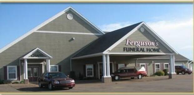 The owner of Ferguson's Funeral Home expects funeral services to remain fairly small on P.E.I. for the next few months because of the cohort logistics that are still required.  (Submitted by Ferguson's Funeral Home - image credit)