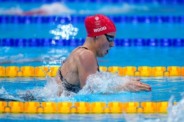 Abbie Wood set a personal best in the final of the women's 200m individual medley (Adam Davy/PA)