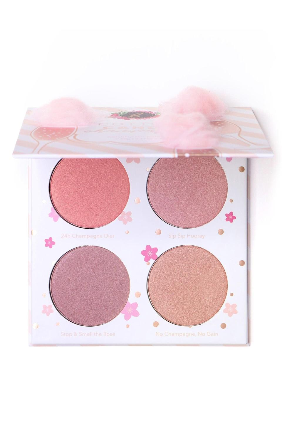 <p>This <span>Beauty Bakerie Cotton Candy Champagne Blush Palette</span> ($38) will be used repeatedly.</p>