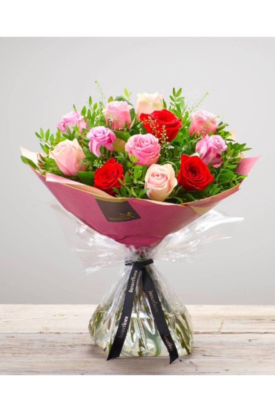 """<p><strong><a class=""""link rapid-noclick-resp"""" href=""""https://go.redirectingat.com?id=127X1599956&url=https%3A%2F%2Fwww.interflora.co.uk%2Fproduct%2Frose-medley-hand-tied%2F%3Fcategory_id%3D1000333&sref=https%3A%2F%2Fwww.cosmopolitan.com%2Fuk%2Fworklife%2Fg26812477%2Fsame-day-flower-delivery-uk%2F"""" rel=""""nofollow noopener"""" target=""""_blank"""" data-ylk=""""slk:BUY NOW"""">BUY NOW</a> Rose Medley Hand-tied, £49.00, Inteflora</strong></p><p>Interflora offer same day delivery on flowers ordered befor 3pm, Monday to Saturday. Most are arranged by a local florist and available in most areas of the UK - with upgrade and gifting options available. </p>"""