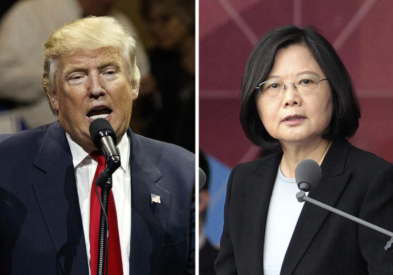China blames Taiwan for president's