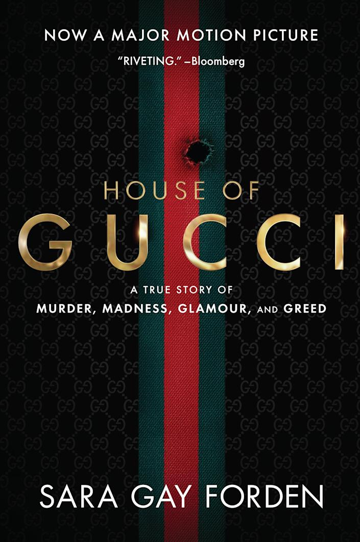 """The new cover for """"House of Gucci."""""""
