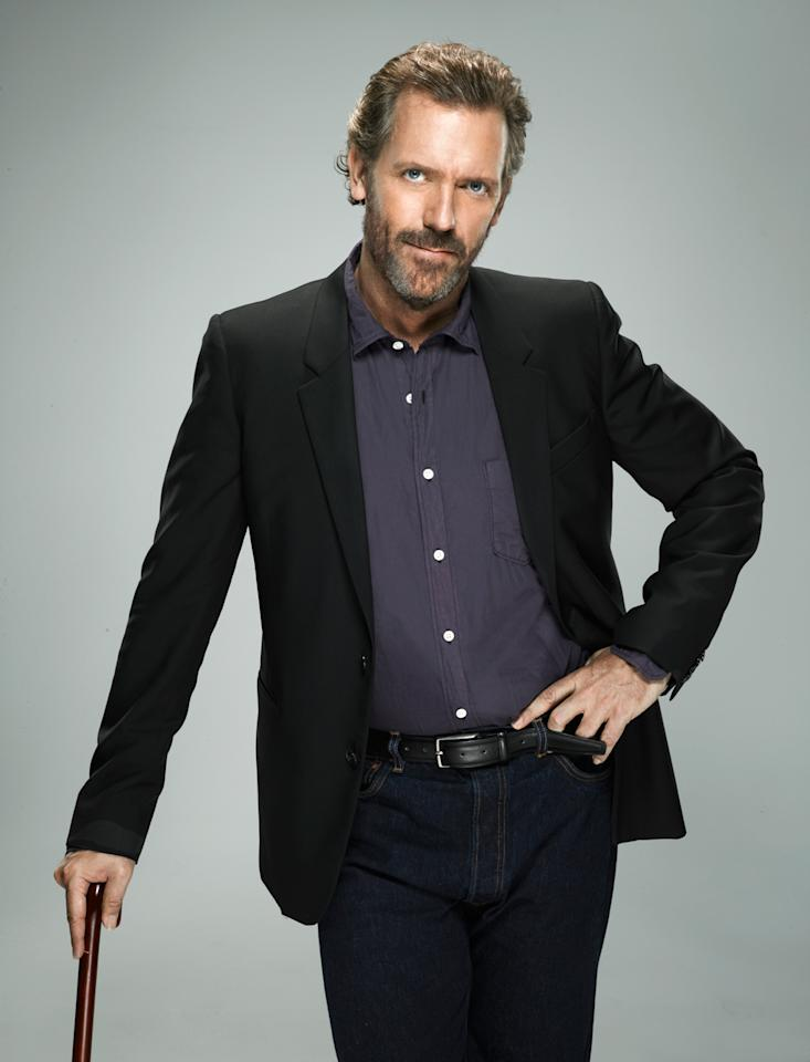 "Hugh Laurie, ""House"""
