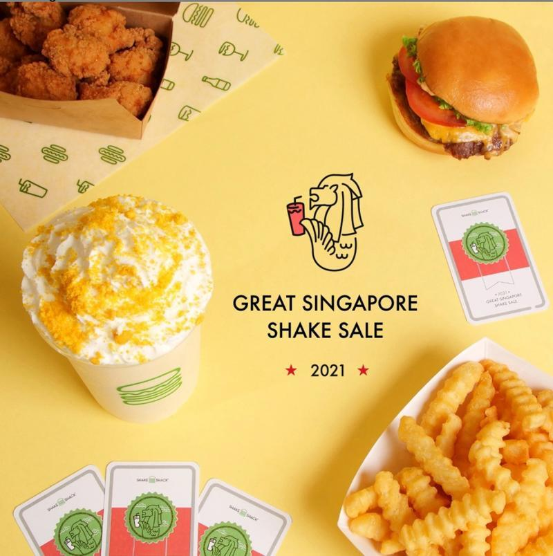 Poster of Great Singapore Shake Sale