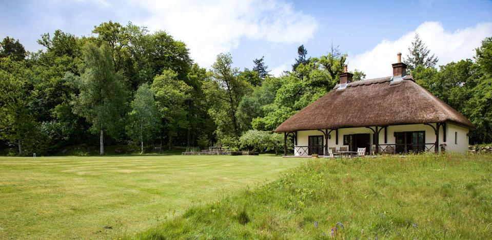 """<p>For a hotel with a cottage straight out of a fairy tale, look no further than <a href=""""https://go.redirectingat.com?id=127X1599956&url=https%3A%2F%2Fwww.booking.com%2Fhotel%2Fgb%2Fgidleigh-park.en-gb.html%3Faid%3D2070929%26label%3Dhotels-with-cottages&sref=https%3A%2F%2Fwww.redonline.co.uk%2Ftravel%2Finspiration%2Fg35649846%2Fhotels-with-cottages%2F"""" rel=""""nofollow noopener"""" target=""""_blank"""" data-ylk=""""slk:Gidleigh Park"""" class=""""link rapid-noclick-resp"""">Gidleigh Park</a>'s gorgeous <a href=""""https://go.redirectingat.com?id=127X1599956&url=https%3A%2F%2Fwww.booking.com%2Fhotel%2Fgb%2Fgidleigh-park.en-gb.html%3Faid%3D2070929%26label%3Dhotels-with-cottages%23room_53666306&sref=https%3A%2F%2Fwww.redonline.co.uk%2Ftravel%2Finspiration%2Fg35649846%2Fhotels-with-cottages%2F"""" rel=""""nofollow noopener"""" target=""""_blank"""" data-ylk=""""slk:Pavilion"""" class=""""link rapid-noclick-resp"""">Pavilion</a>. The foodie hotel's delightful little rental is a two-bedroomed thatched cottage that sits in the grounds of its Dartmoor location. </p><p>It overlooks the croquet lawns and has an open plan panelled sitting room with a kitchen diner and a private veranda - it's also dog-friendly so be sure to bring your pooch. </p><p>You'll have peace and privacy but with the best of Gidleigh Park on tap: the main house is a backdrop to the cottage and is less than a minute's walk to the dining room and lounges from May 17th, or you can have room service delivered to your door from April 12th.</p><p><a class=""""link rapid-noclick-resp"""" href=""""https://go.redirectingat.com?id=127X1599956&url=https%3A%2F%2Fwww.booking.com%2Fhotel%2Fgb%2Fgidleigh-park.en-gb.html%3Faid%3D2070929%26label%3Dhotels-with-cottages&sref=https%3A%2F%2Fwww.redonline.co.uk%2Ftravel%2Finspiration%2Fg35649846%2Fhotels-with-cottages%2F"""" rel=""""nofollow noopener"""" target=""""_blank"""" data-ylk=""""slk:CHECK AVAILABILITY"""">CHECK AVAILABILITY</a></p>"""