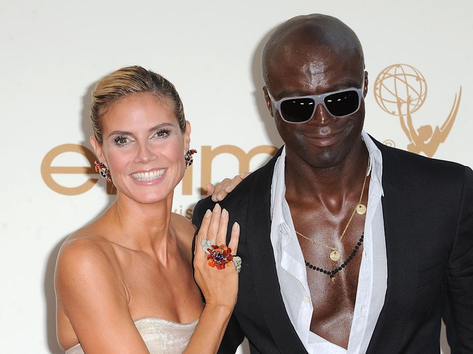 Klum with ex-husband Seal in 2011, months before they announced their separation. (Photo: C Flanigan/FilmMagic)