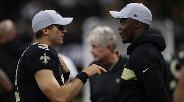 Teddy Bridgewater on Being Saints Backup: 'I Get to Learn From One of the Best Players to Ever Play'