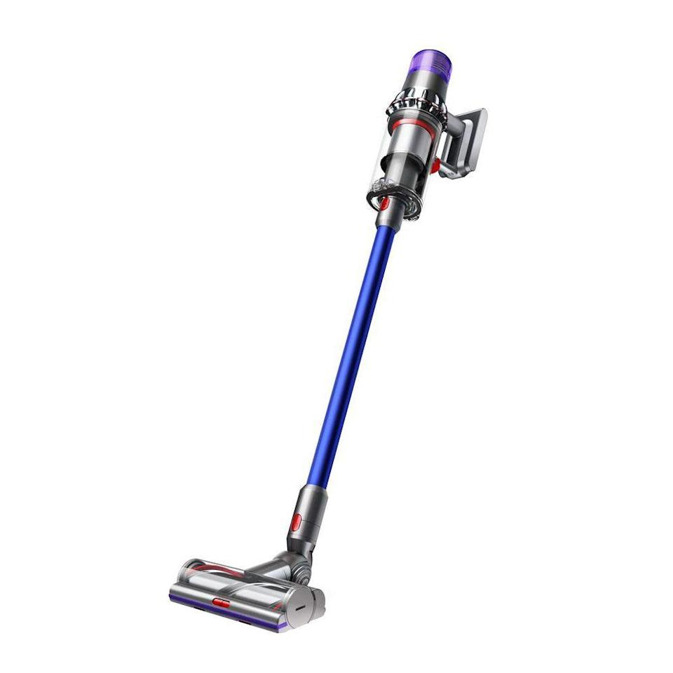 """<p><strong>Dyson</strong></p><p>amazon.com</p><p><strong>$549.50</strong></p><p><a href=""""https://www.amazon.com/dp/B07NX8XBMP?tag=syn-yahoo-20&ascsubtag=%5Bartid%7C2089.g.864%5Bsrc%7Cyahoo-us"""" rel=""""nofollow noopener"""" target=""""_blank"""" data-ylk=""""slk:Shop Now"""" class=""""link rapid-noclick-resp"""">Shop Now</a></p><p>The range-topping variant of Dyson's latest V11 cordless vacuum is part cleaning tool and part technological marvel, capable of delivering up to an industry-leading 60 minutes of runtime between charges. </p><p>Best of all, thanks to a built-in color display, the vacuum allows you to keep tabs on the remaining battery life, as well as to effortlessly control its suction power. An intelligent cleaning mode is also available. </p><p>Lightweight and ergonomically designed, the vacuum can instantly transform from a handheld to a floor setup. It comes with a host of tools for cleaning any type of surface at home or in a car.</p><p><strong>More:</strong> <a href=""""https://www.bestproducts.com/appliances/small/g28902207/stick-vacuum-reviews/"""" rel=""""nofollow noopener"""" target=""""_blank"""" data-ylk=""""slk:Our Guide to Buying a Stick Vacuum"""" class=""""link rapid-noclick-resp"""">Our Guide to Buying a Stick Vacuum</a></p>"""