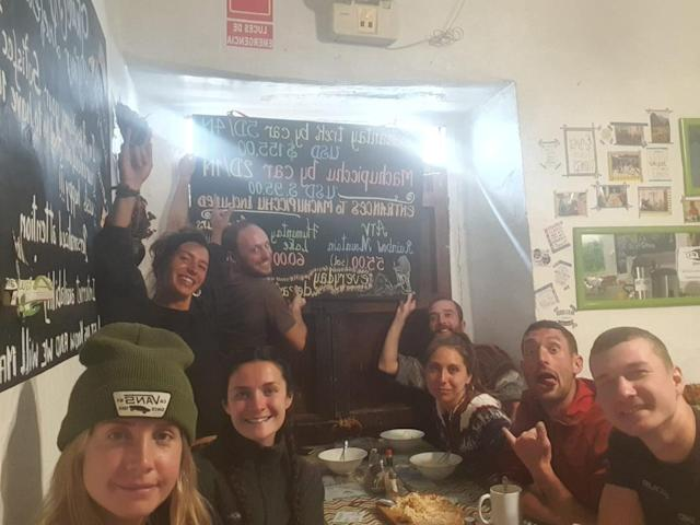 Stephanie Kidd and her friends have been isolated in a hostel in Peru for two weeks so far. The country has declared a national state of emergency due to the coronavirus crisis.