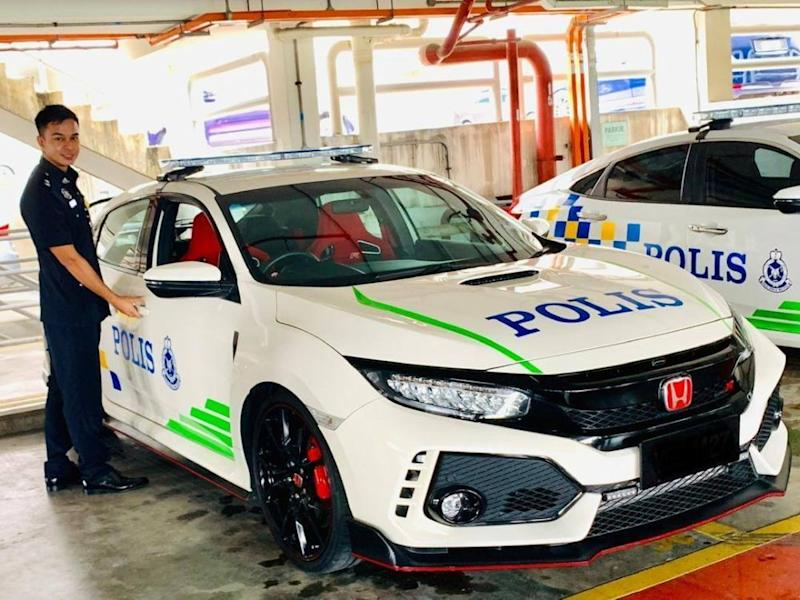 The Honda Civic Type R is being evaluated as pursuit vehicles for the Royal Malaysia Police.