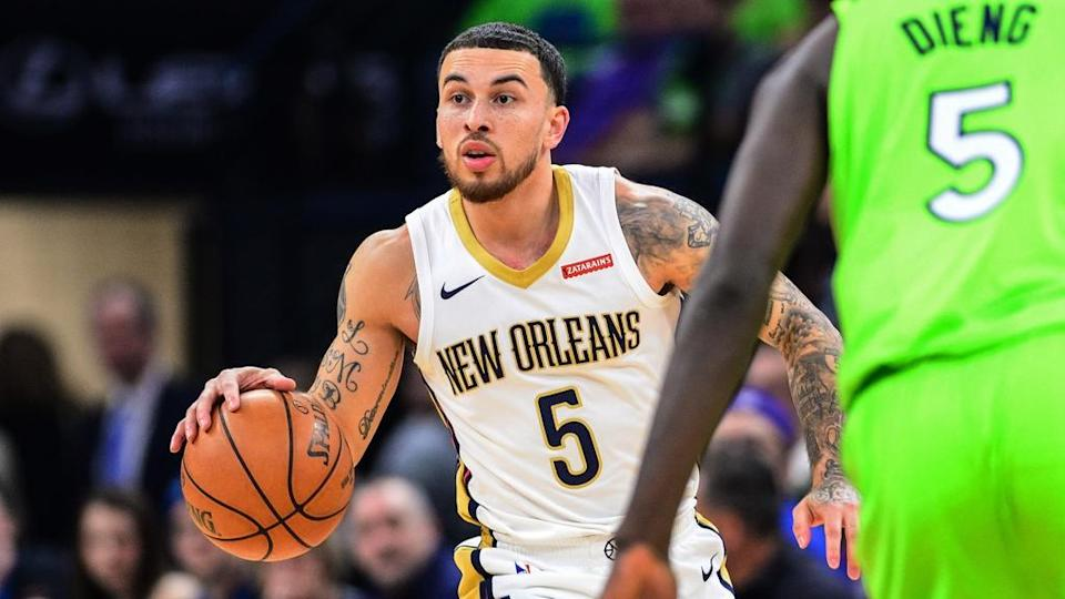 Mike James Pelicans jersey