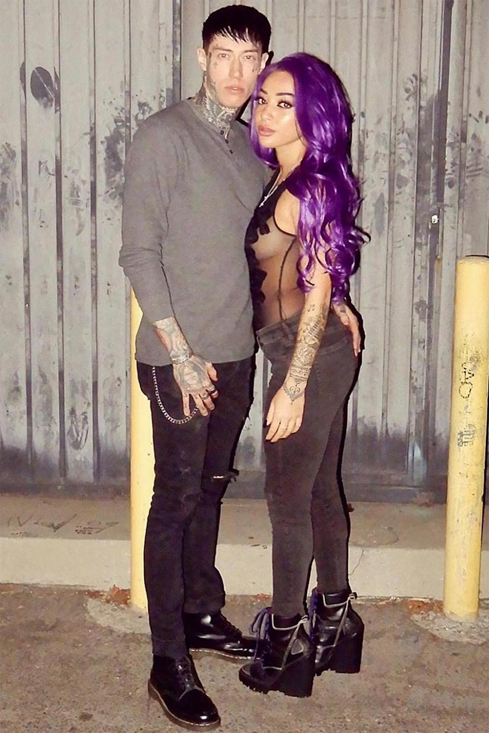Trace Cyrus Responds to Followers Who Reported Photo of His Fiancée