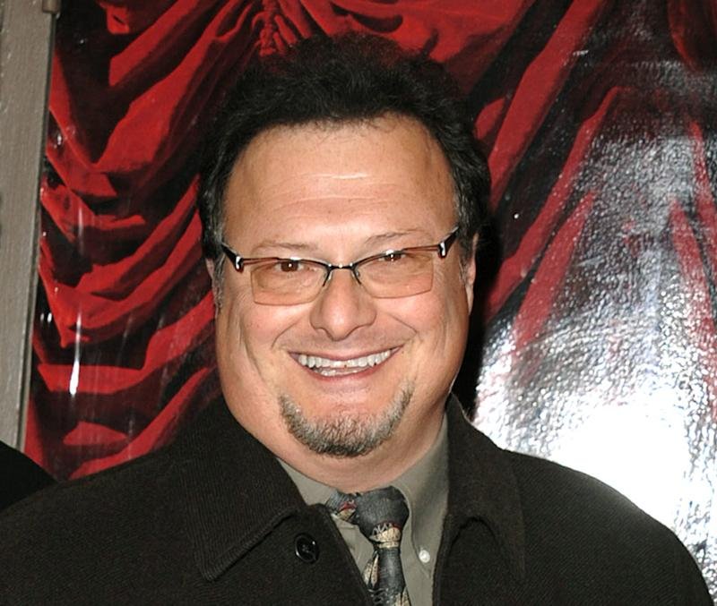 "FILE - This March 27, 2008 file photo shows actor Wayne Knight, best known for his role as postal carrier Newman on ""Seinfeld,"" arriving at the opening night of ""Gypsy"" on Broadway in New York.  Knight will star as Santa in the hit musical ""Elf,"" this holiday season at the Al Hirschfeld Theatre in New York.  Performances will begin on Friday, Nov. 9, for a limited engagement of 9 weeks through Jan. 6. (AP Photo/Peter Kramer, file)"
