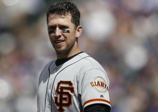 The Giants still hope to build around catcher Buster Posey. (AP)