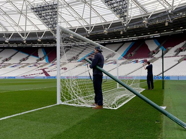 Around 50 HMRC officers raided West Ham's London Stadium and training ground (Getty)