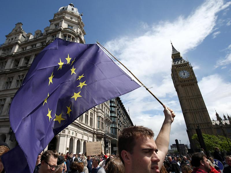 The UK Government has consistently refused to guarantee the rights of the 3.2 million EU citizens living in the: Reuters