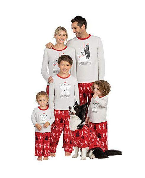 """<p><strong>PajamaGram</strong></p><p>amazon.com</p><p><strong>$45.99</strong></p><p><a href=""""https://www.amazon.com/dp/B07N6N2KVW?tag=syn-yahoo-20&ascsubtag=%5Bartid%7C10055.g.4946%5Bsrc%7Cyahoo-us"""" rel=""""nofollow noopener"""" target=""""_blank"""" data-ylk=""""slk:Shop Now"""" class=""""link rapid-noclick-resp"""">Shop Now</a></p><p>Even Darth Vador is getting into the holiday spirit! There's also a matching pair for <a href=""""https://www.kohls.com/product/prd-4321049/jammies-for-your-families-mens-big-tall-star-wars-the-mandalorian-the-child-aka-baby-yoda-holiday-pajama-set.jsp?"""" rel=""""nofollow noopener"""" target=""""_blank"""" data-ylk=""""slk:men"""" class=""""link rapid-noclick-resp"""">men</a>, <a href=""""https://www.kohls.com/product/prd-4460936/jammies-for-your-families-toddler-star-wars-the-mandalorian-the-child-aka-baby-yoda-holiday-pajama-set.jsp"""" rel=""""nofollow noopener"""" target=""""_blank"""" data-ylk=""""slk:toddlers"""" class=""""link rapid-noclick-resp"""">toddlers</a>, and <a href=""""https://www.kohls.com/product/prd-4377105/jammies-for-your-families-boys-4-12-star-wars-the-mandalorian-the-child-aka-baby-yoda-holiday-pajama-set.jsp?"""" rel=""""nofollow noopener"""" target=""""_blank"""" data-ylk=""""slk:kids"""" class=""""link rapid-noclick-resp"""">kids</a>. </p><p><strong>RELATED</strong>: <a href=""""https://www.goodhousekeeping.com/holidays/gift-ideas/g29624061/star-wars-gifts/"""" rel=""""nofollow noopener"""" target=""""_blank"""" data-ylk=""""slk:The 40 Coolest Star Wars Gifts for Kids and Adults"""" class=""""link rapid-noclick-resp"""">The 40 Coolest Star Wars Gifts for Kids and Adults</a><br></p>"""