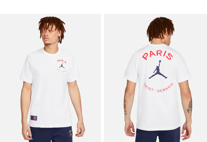 Football fans rejoice! You can now pick up Paris Saint-Germain t-shirts from Nike