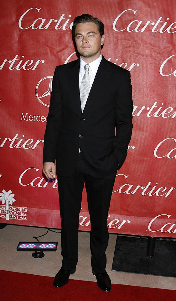 "<a href=""http://movies.yahoo.com/movie/contributor/1800020898"">Leonardo DiCaprio</a> at the 20th Annual Palm Springs Film Festival Gala - 01/06/2009"